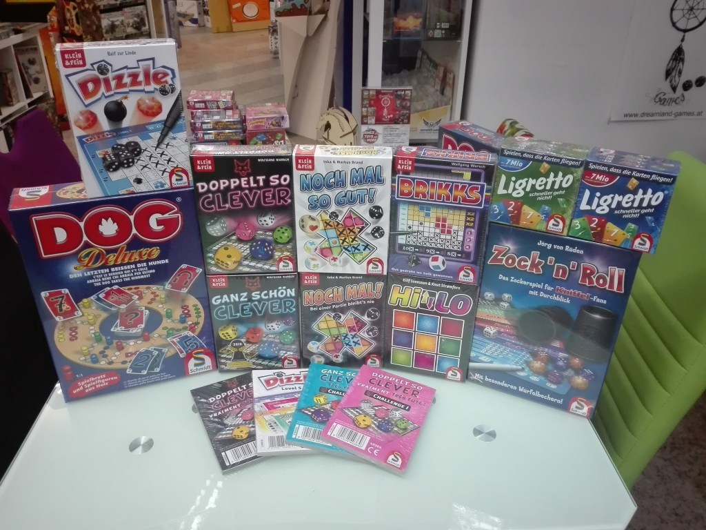 Games, Toys & more Nochmal so gut Würfelspiel Linz