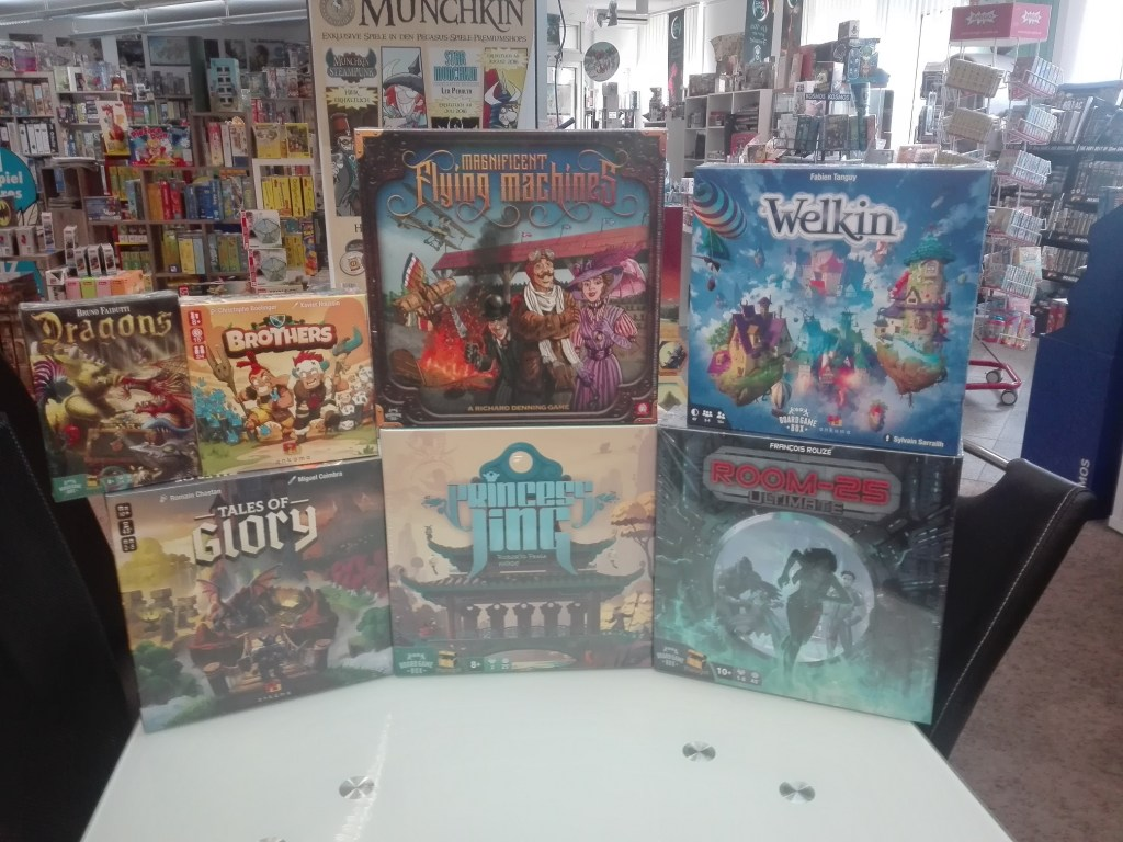 Games, Toys & more Tales of Glory Brettspiel Board Game Box Linz