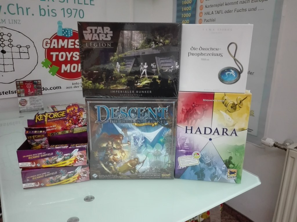 Games, Toys & more Keyforge Kollidierende Welten Kartenspiele Linz