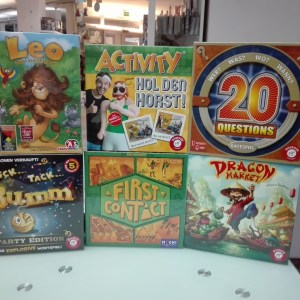 Games, Toys & more First Conact Huch Spiele Linz