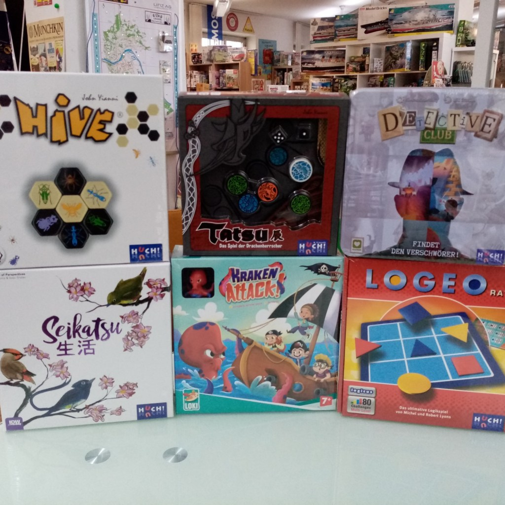 Games, Toys & more Detective Club Huch Spiele Linz