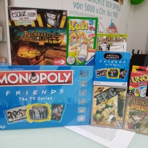Games, Toys and more Trivial Pursuit Friends Quizspiele Linz