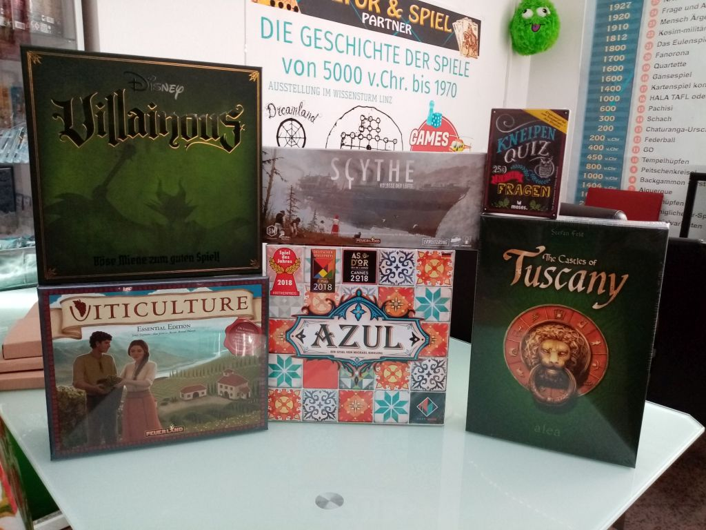 Games, Toys & more Castels of Tuscany Alea Spiele Linz