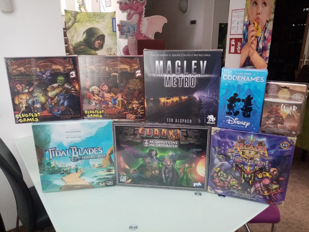 Games, Toys & more Tidal Blades english Board Games Linz