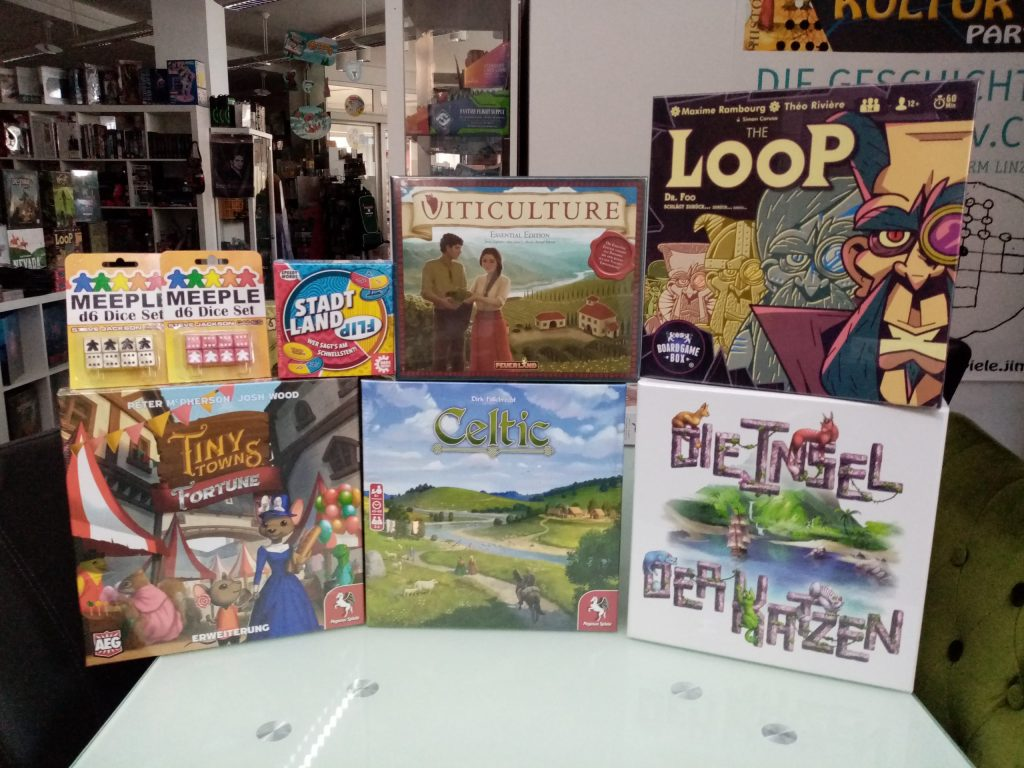 Games, Toys & more The Loop dt. BoardgameBox Spiele Linz