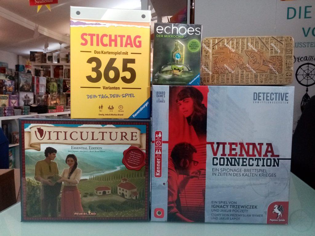 Games, Toys & more 365 Tage Stichspiele Linz
