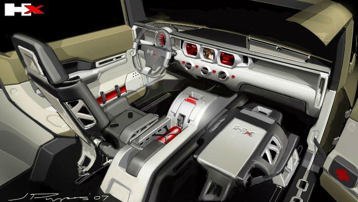 2017 Hummer H4 Interior