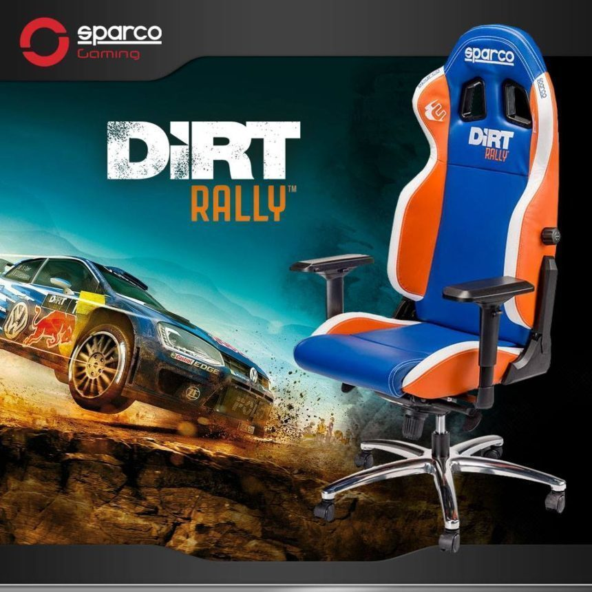 forza horizon 2 gaming chair korum accessories sparco and codemasters team up for dirt rally racing seat