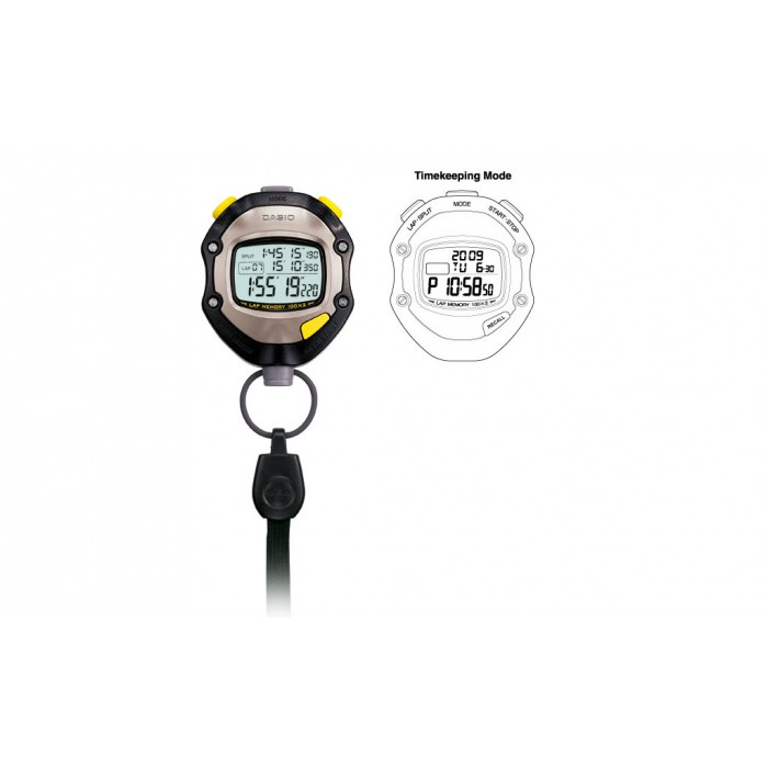[READY STOCK] CASIO HS-70W-1 Hand Held Sports Track Field