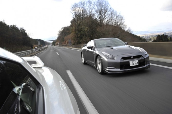 Photo Journey of the debut and the latest R35 初期型と最新型で行く古都の旅