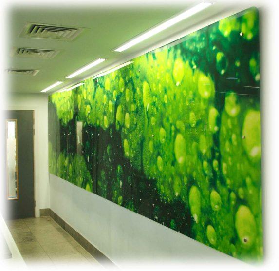 Internal wall art