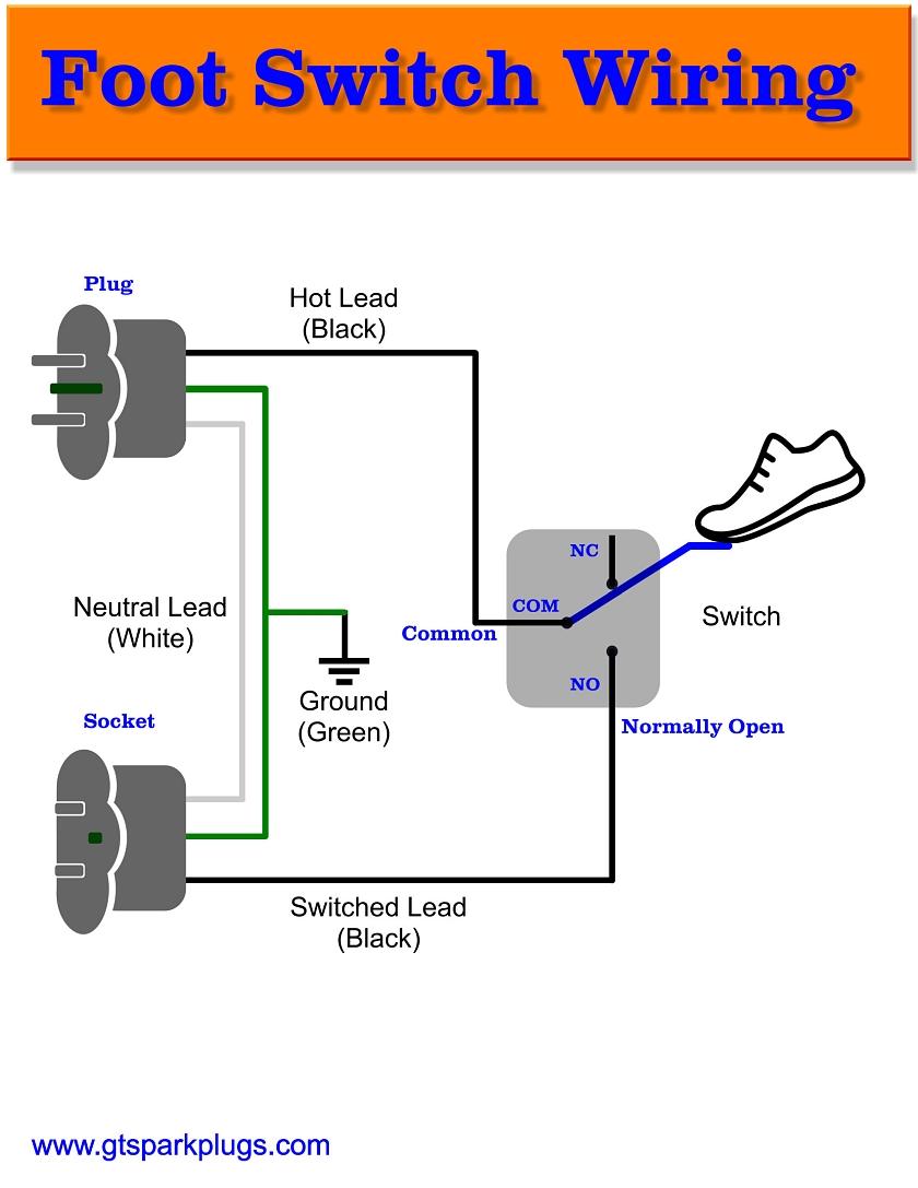 hight resolution of foot control wiring diagram on kirby vacuum switch wiring diagramdiy foot switch gtsparkplugs rh gtsparkplugs com