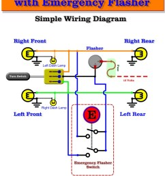 simple turn signal wiring diagram wiring diagram today automotive flashers gtsparkplugs emergency flasher wiring [ 840 x 1087 Pixel ]