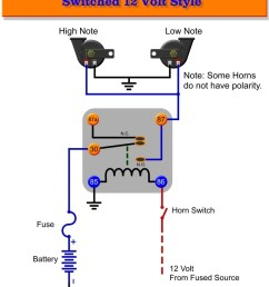 simple horn wiring diagram wiring diagram todays universal gm wiring harness gm horn wiring [ 840 x 1087 Pixel ]