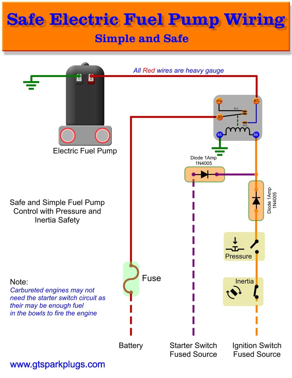 fuel safe wiring diagram