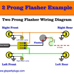 2 Pin Led Flasher Relay Wiring Diagram Ge Microwave Automotive Flashers | Gtsparkplugs