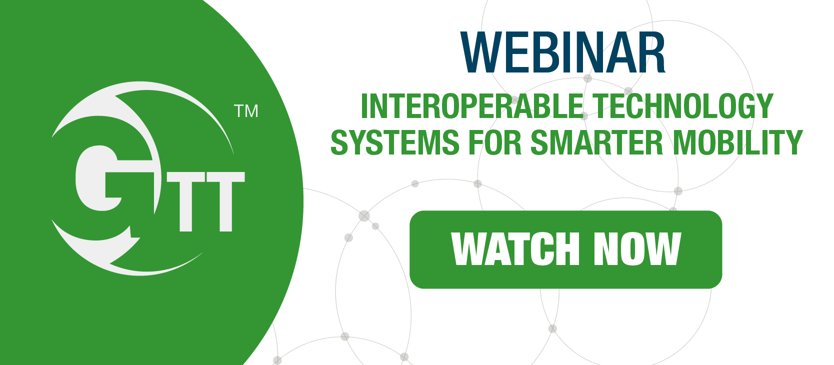 Webinar on Demand: Interoperable Systems for Smarter mobility