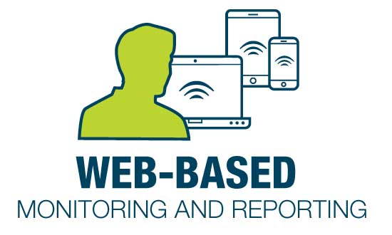 Web-based monitoring and reporting