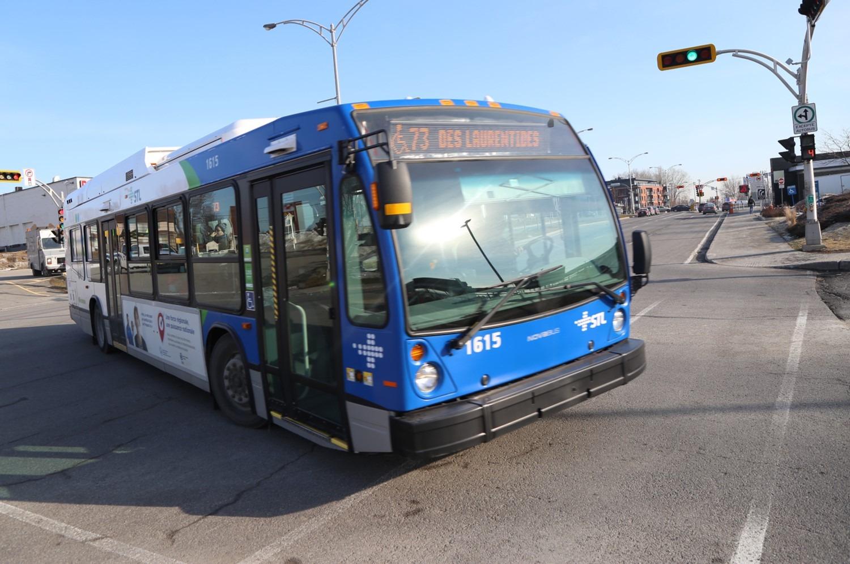 Société de transport de Laval (STL) bus