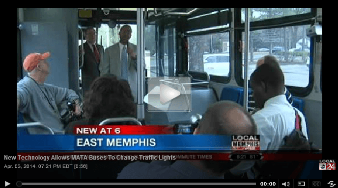 New technology allows MATA Buses to Change Traffic Lights