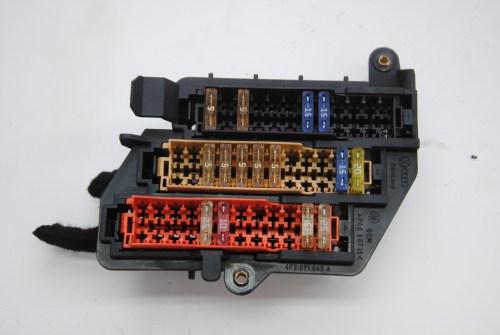 small resolution of audi a6 c6 2006 fuse box board module