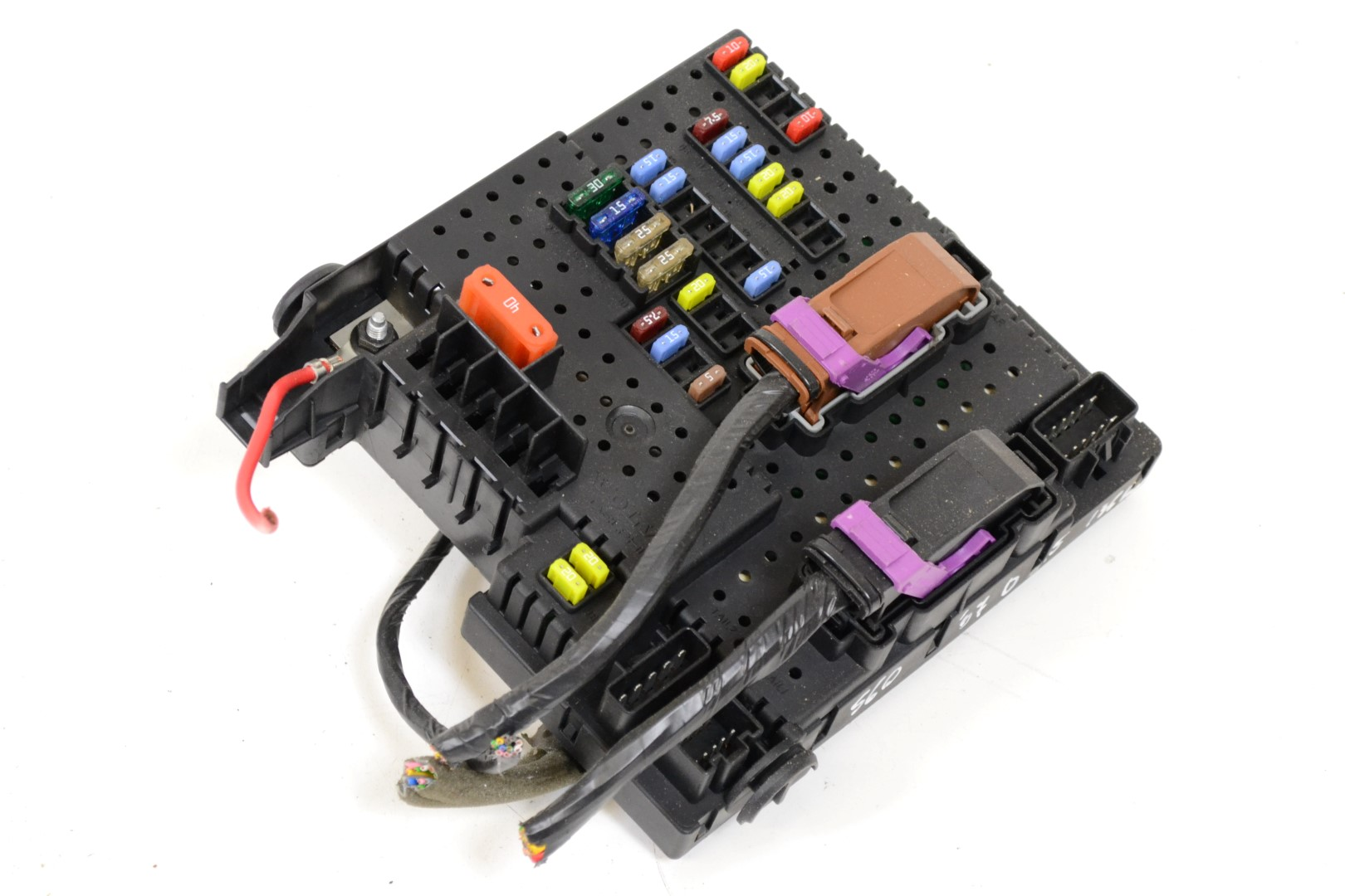 hight resolution of volvo s60 2 4 d5 2006 rhd relay fuse box board module unit 30786646