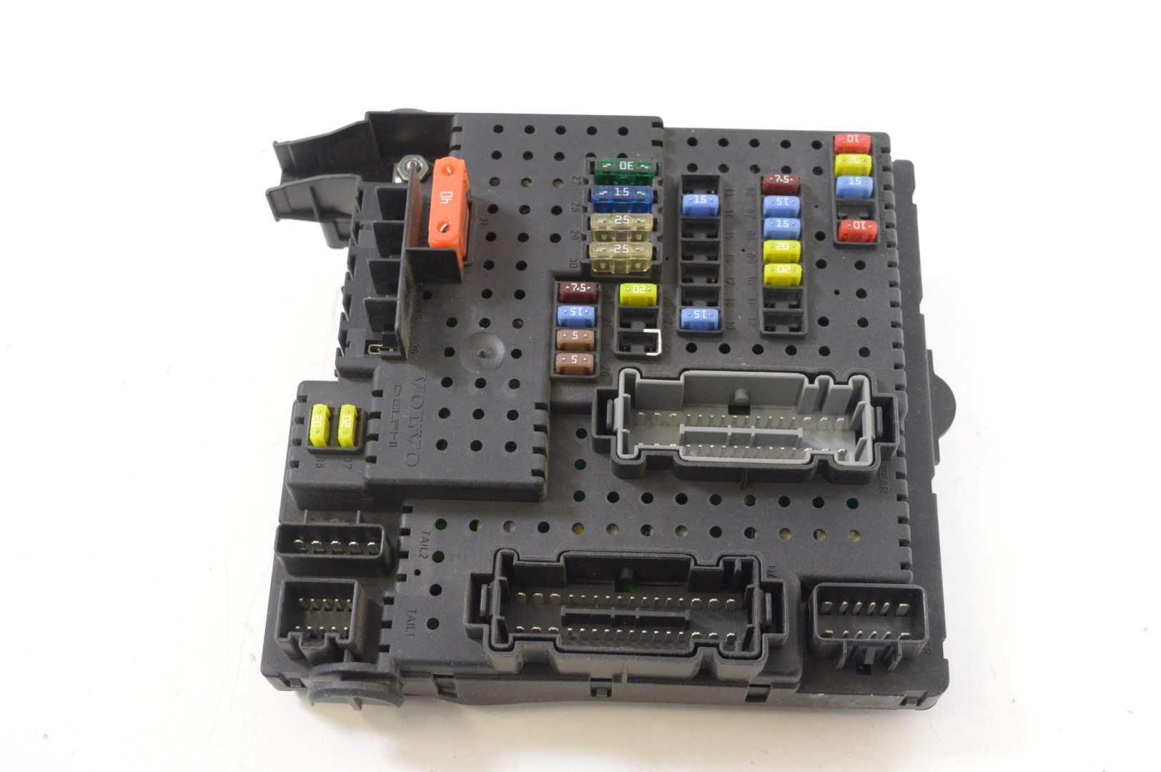 hight resolution of volvo v70 2 4 d5 2005 rhd relay fuse box electric board unit 8688264