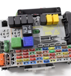 details about opel vauxhall zafira a 2 0 dti 2005 rhd interior relay fuse box board 24431677 [ 1616 x 1080 Pixel ]