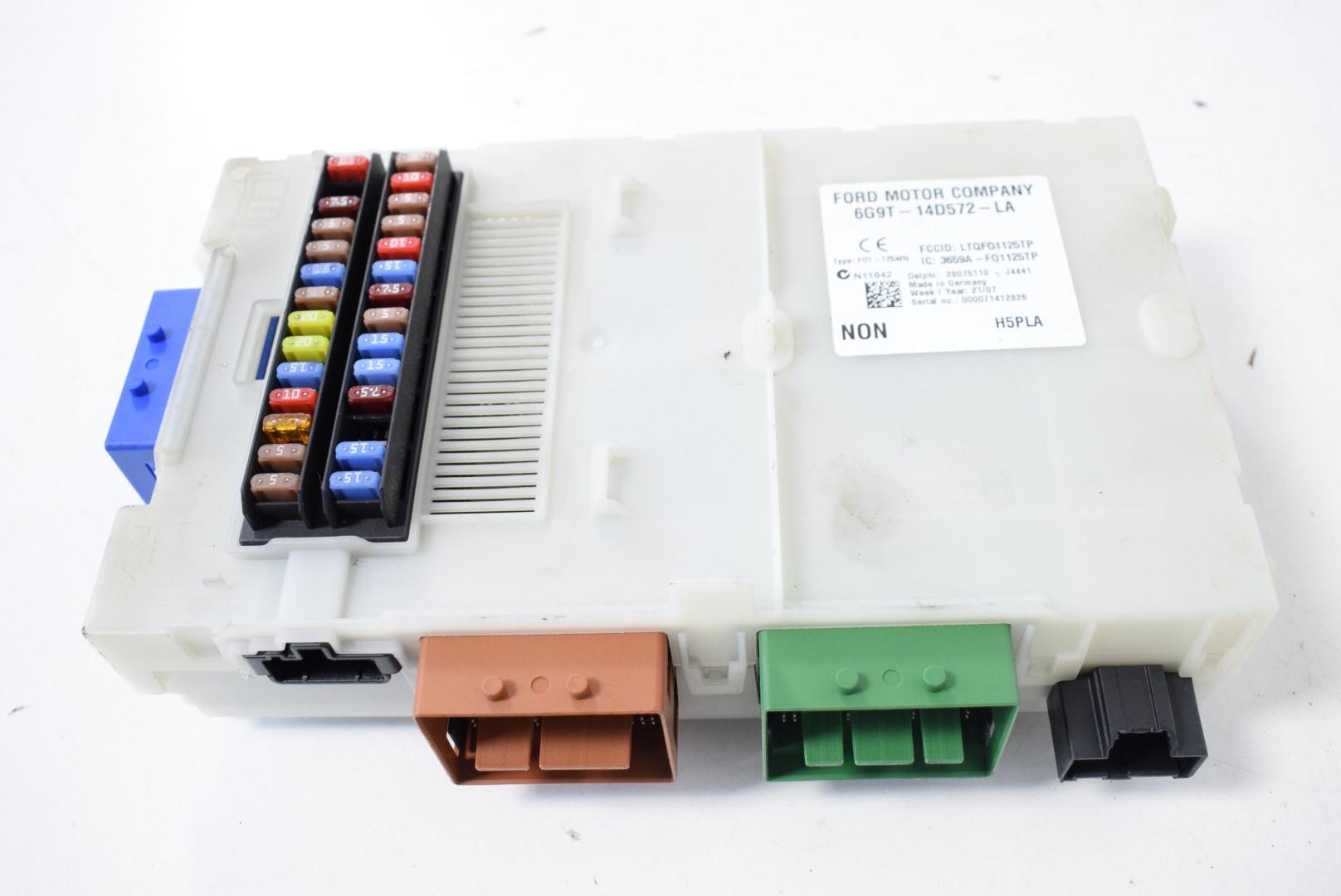 hight resolution of land rover freelander 2 2td4 2008 rhd interior fuse box 6g9t 14d572 la
