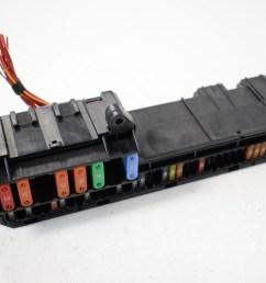 bmw 5 series e60 520d 2007 rhd fuse box power distribution unit 6957330 [ 1616 x 1080 Pixel ]
