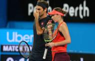Belinda Bencic recalls Hopman Cup with Roger Federer