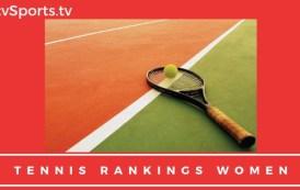 Tennis Rankings Women