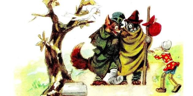 Il gatto e la volpe truffa