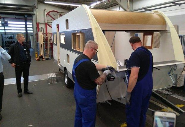 taller de reparación de autocaravanas