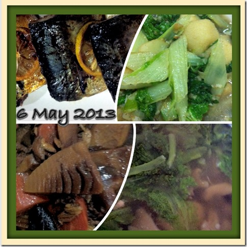 What I cooked today (家常便饭系列) –6-5-2013