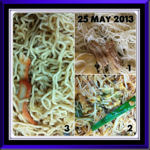 What I cooked today (家常便饭系列)- 25-5-2013