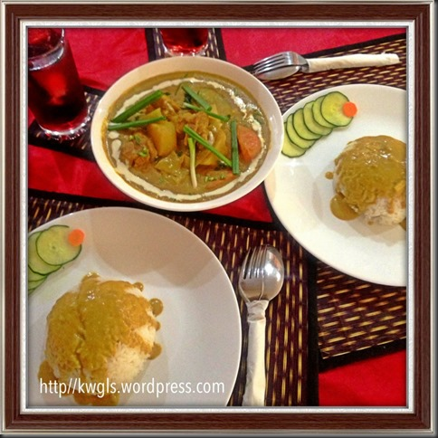 Special - What I cooked today (家常便饭系列)- 22-7-2013–Korma Chicken (科尔马鸡肉)