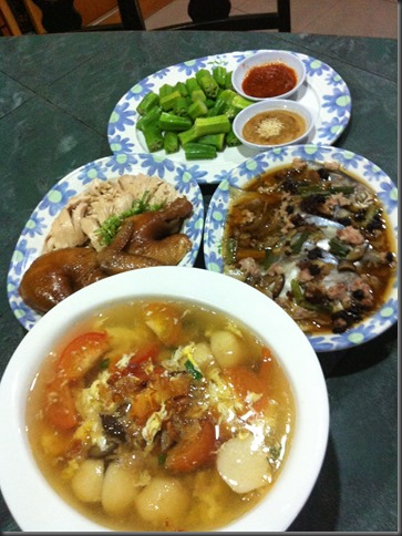 What I cooked today (家常便饭系列)- 3-7-2013