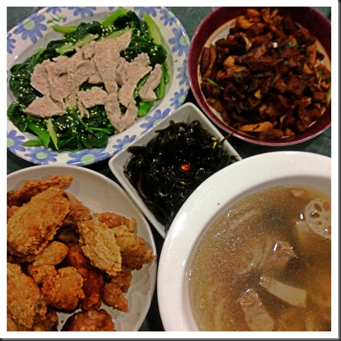 What I cooked today (家常便饭系列)- 5-8-2013