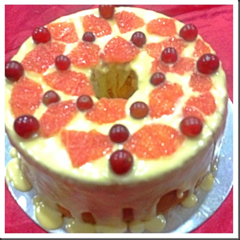 Grapefruit Chiffon with Grapefruit Citrus Glaze,… Ever Try This?