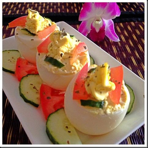 Devilled Egg- Simplicity Rules…