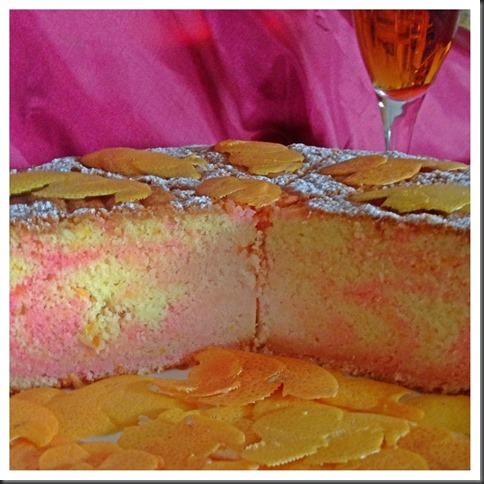 One Number Baking Ratio Adventures Continues… Grapefruit Cognac Pound Cake With Grapefruit Posset…