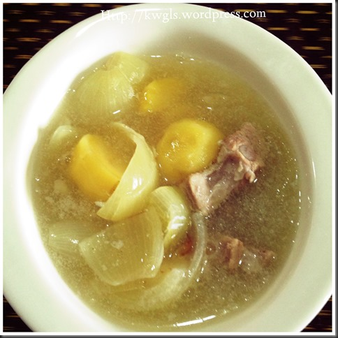 Nostalgic Soup Than Can't Erase From My Mind–Chinese Style Potatoes Soup
