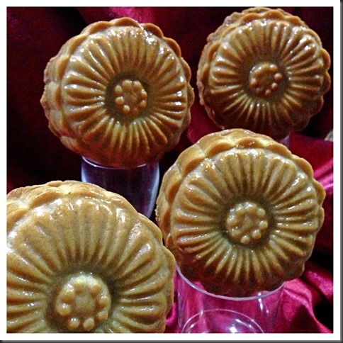 Can I Have A Moon Cake That Is Not Round? Hmmm.. Try Short Crust Pastry Moon Cake