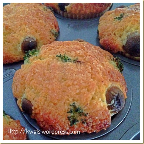 Healthy Vegetables Muffins (健康蔬菜小松饼 (素))