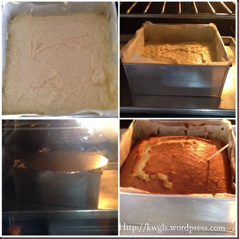 Sugee Almond Cake (Sugee 杏仁蛋糕)