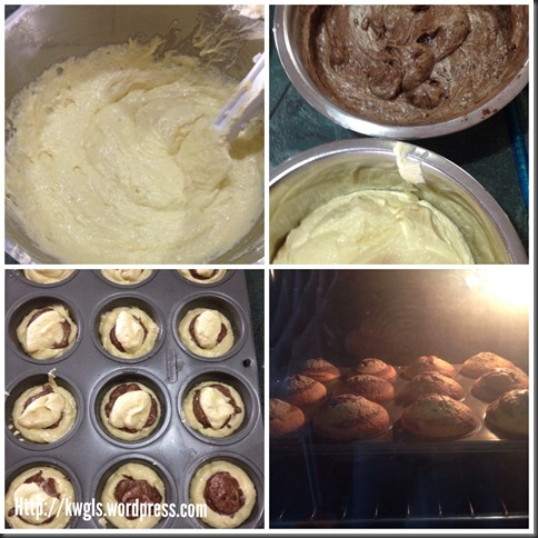 One Number Baking Ratio Adventures (9)–Yoghurt Marble Cup Cake