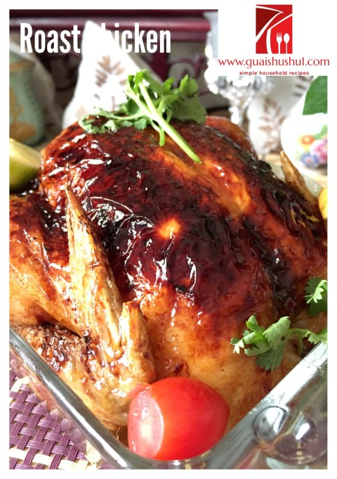 Easy Peasy Crispy Roast Chicken (简易烤鸡食谱)