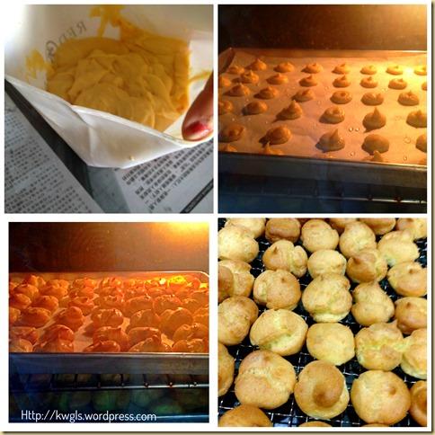 Another Profiteroles Bake - Christmas Croquembouche (圣诞泡芙塔)