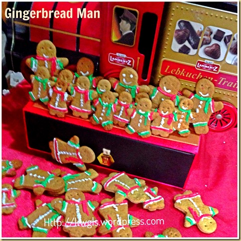 Gingerbread Man Biscuits (姜饼人)